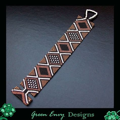 triangle pattern loom bracelet 27 best images about bead looming on pinterest loom