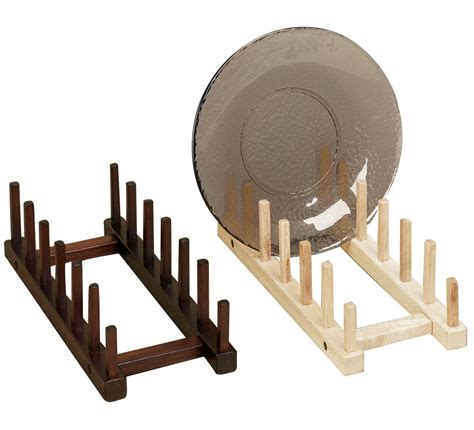 displaycollections wooden plate racks