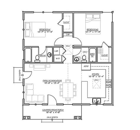 house plan 99971 cottage vacation plan with 598 sq ft 14 best 20 x 40 plans images on pinterest small home