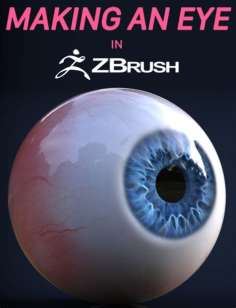 zbrush glass tutorial make an eye with zbrush free model jhill xyz
