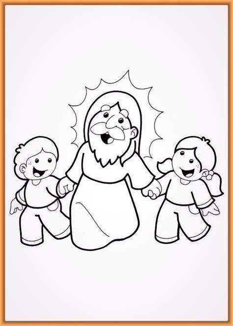 imagenes para colorear jesus y los niños imagenes para colorear de dios padre archivos fotos de dios