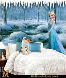 Disney Frozen Bedroom Decor Decorating Theme Bedrooms Maries Manor