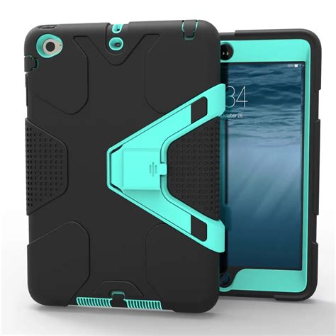 Mini 1 2 3 Army Casing Cover Abri Armor Defe T1310 1 heavy duty for apple mini 1 2 3 shockproof armor stand cover ebay