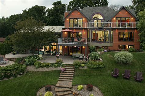 Small Lakefront House Plans by Beautiful Lake Home Best Lake Homes Lake House Builders