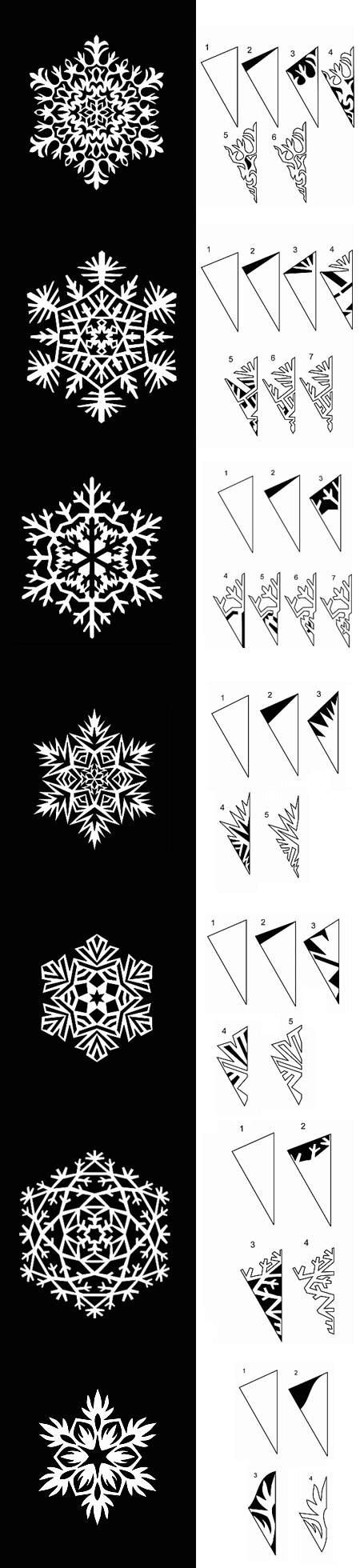 diy paper snowflakes templates diy projects usefuldiycom