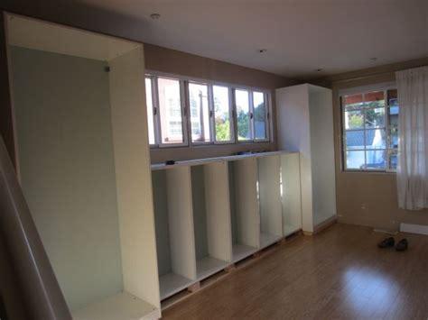 ikea besta closet diy built ins using ikea besta shelves and pax wardrobes