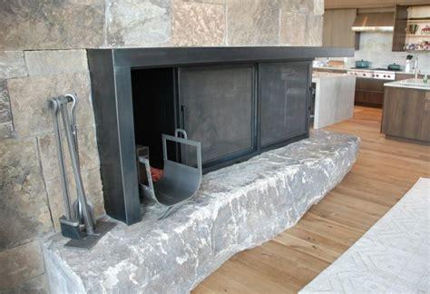 Sliding Fireplace Doors by Brandner Design The Sliding Fireplace Doors
