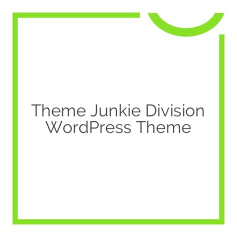 Theme Junkie Division | theme junkie division wordpress theme 1 0 6 download nobuna