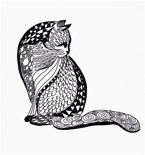 doodle cat drawings marymac may 2014