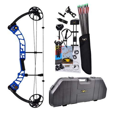 Compound Bow Topoint T1 Luxury Package topoint archery compound bow t1 luxury package cnc milling