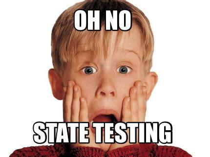 oh no meme meme creator oh no state testing