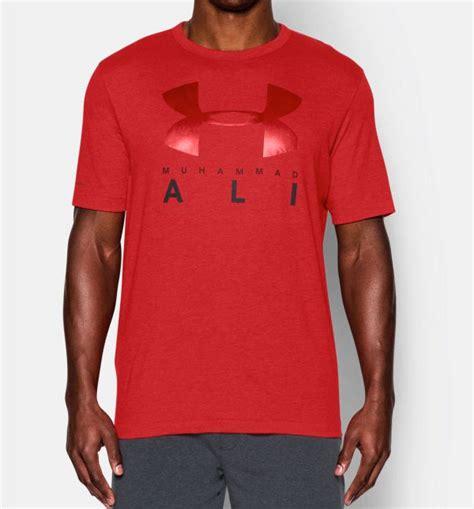Muhammad Ali Armour Tshirt armour x muhammad ali sportstyle t shirts