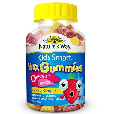 Nature S Way Smart Vita Gummies buy nature s way smart vita gummies omega 3 fish 60 at chemist warehouse 174