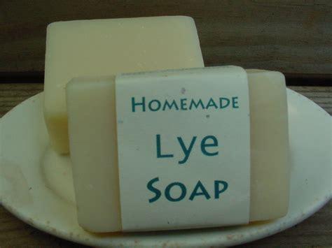 Handmade Lye Soap - lye