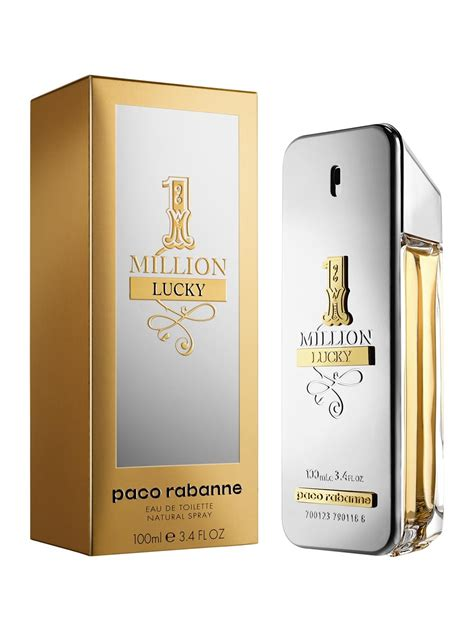 Parfum Million 1 million lucky paco rabanne cologne a new fragrance for
