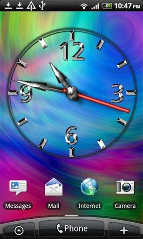 q mobile live themes download cool clock free download