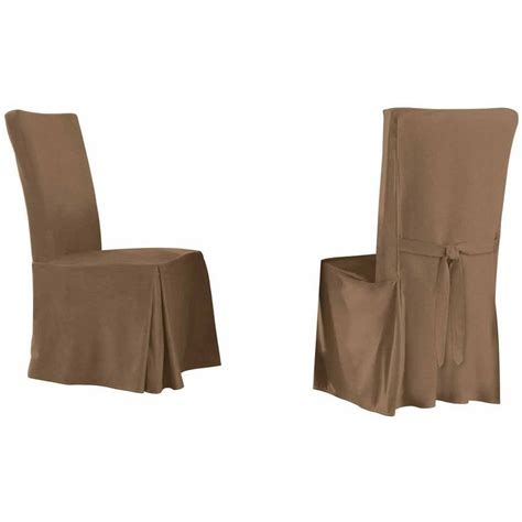 ruffled dining chair slipcovers cotton tiered ruffled dining chair slipcover ruffled khaki