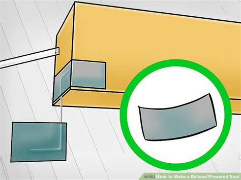 how to make a paper clip boat how to make a balloon powered boat with pictures wikihow