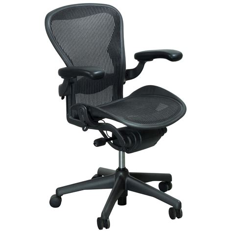 herman miller aeron  size  full function task chair carbon national office interiors