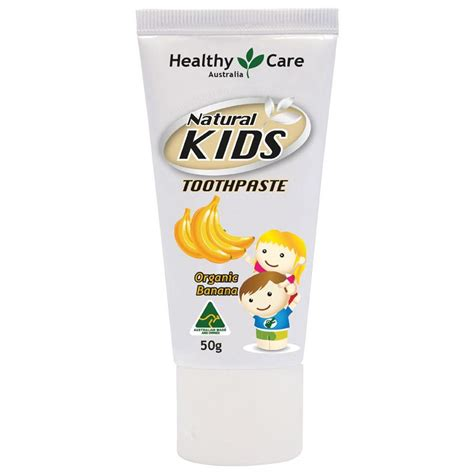 buy healthy care toothpaste organic banana