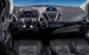 interior of new ford transit custom revealed truck trend