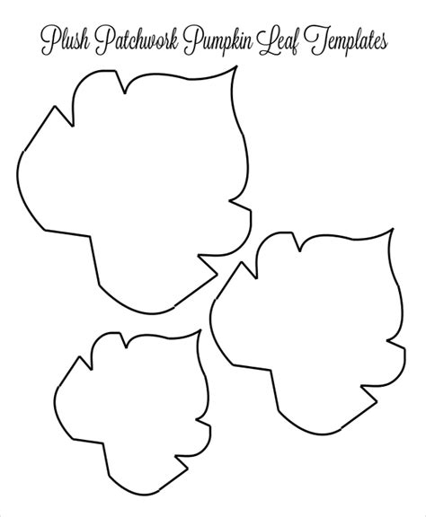 Outline Of A Pumpkin Leaf by Leaf Template 10 Free Pdf Psd Format Free Premium Templates