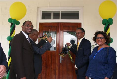 Social Security Office Jamaica by Upgraded Parish Office Of Social Security Ministry Opens