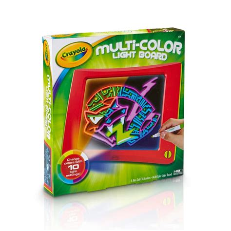 crayola light up board amazon com crayola multi color light board art tools