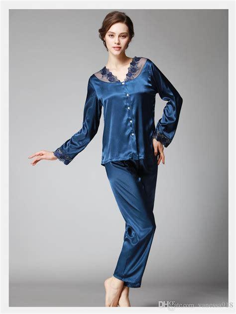 Get Look In Primp Pyjamas 2 by 2018 Satin Pajama Sets Pajamas Set Imitated Silk