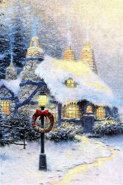 casa natalizia casa natalizia innevata con ghirlanda festivita sfondi