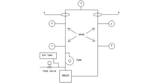 wiring diagram pumped central heating gravity water