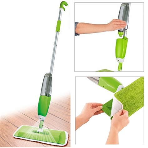 Spray Mop T1310 1 350ml spray mop water spraying floor cleaner tiles microfibre marble kitchen