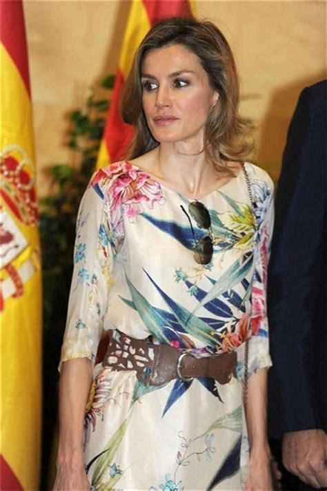 princess letizia and zara floral tunic 1618015