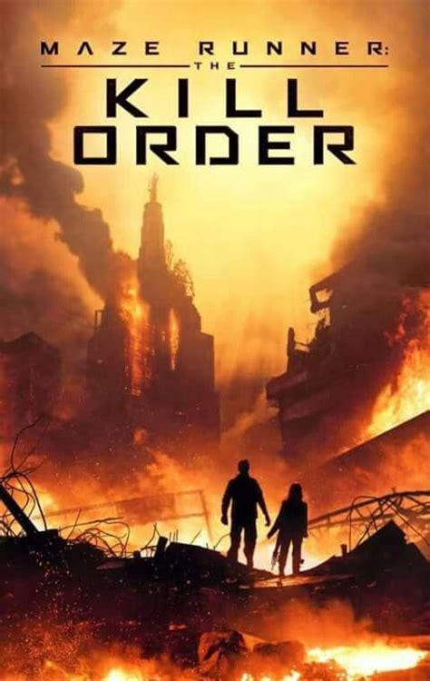 maze runner film order the kill order james dashner the maze runner