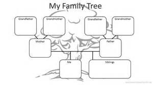 preschool family tree template kindergarten family worksheets worksheets the
