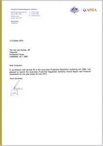 Annual Leave Cancellation Letter Sample Joe Hockey Letter