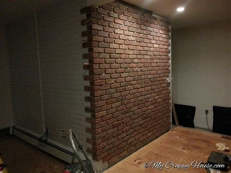 brick accent wall 40 best brick slips accent walls images on pinterest