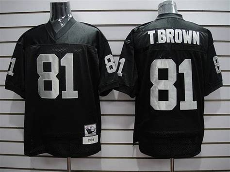 youth black tim brown 81 jersey p 686 mitchell and ness raiders 81 tim brown stitched black nfl