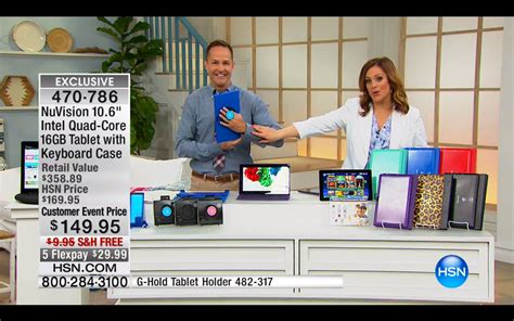 g hold launches on the home shopping network in the usa