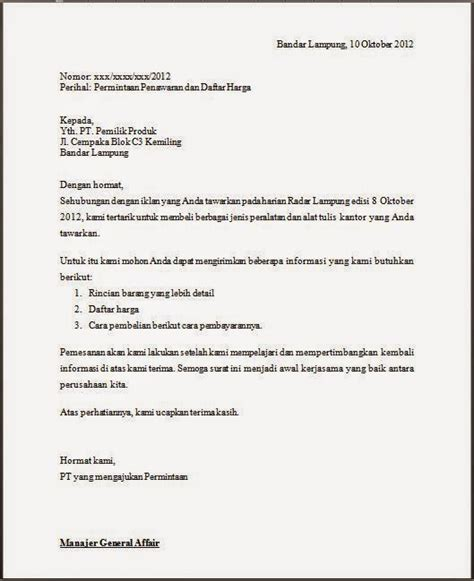 Contoh Surat Permintaan Jasa Pengiriman Barang by Surat Niaga