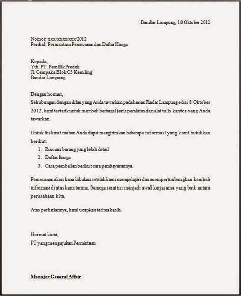 Surat Niaga Surat Penawaran by Surat Niaga