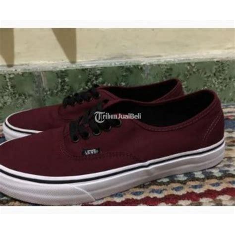 Sepatu Vans Wanita Murah sepatu vans pria wanita maroon port royale size 43 original second murah yogyakarta dijual