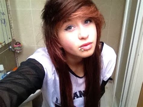 how to do emo hairstyles scene emo hair tutorial youtube