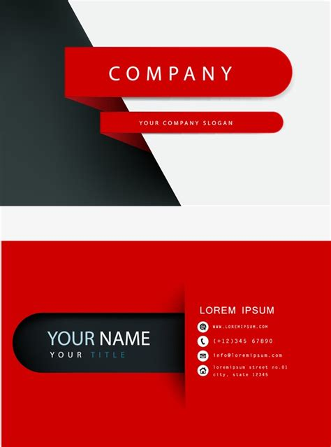 Business Card Libre Template by Business Card Business Vector Card Vector Fashion