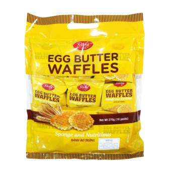 Richy Egg Butter Waffle interfood do the best