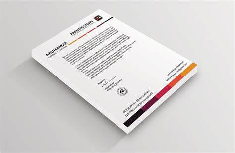 letterhead templates for photoshop free 12 free letterhead templates in psd ms word and pdf