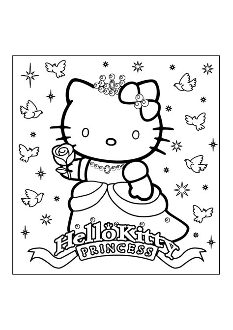 printable hello kitty numbers hello kitty coloring pages printable pages a colorier