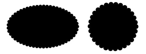 illustrator pattern edge simple way to make a circle with a scalloped edge in