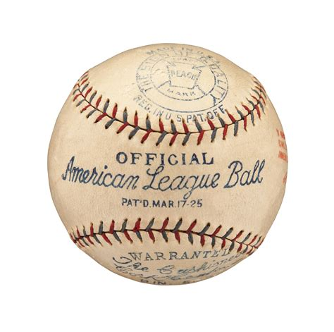 Lot Detail 1925 27 Babe Ruth Single Signed American