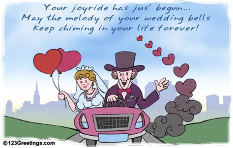 Wedding Wishes For Just Married by The Journey Has Just Begun Free Just Married Ecards